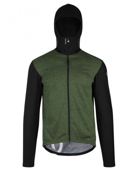 Assos TRAIL Spring/Fall Hooded Jacket - mugoGreen