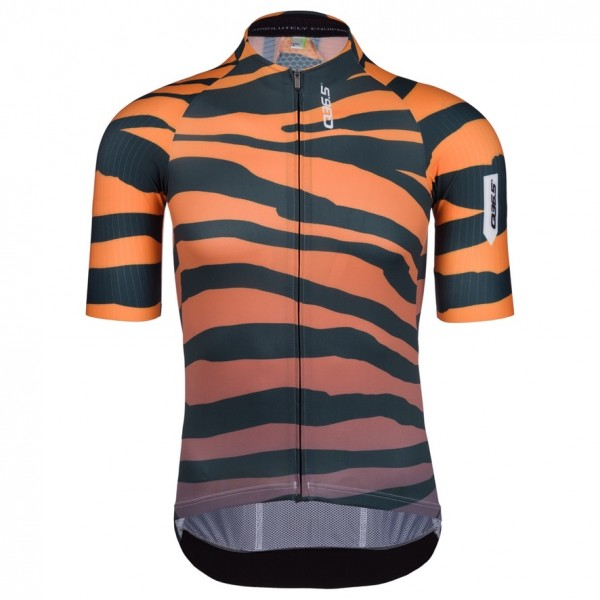 Q36.5 Radtrikot kurzarm R2 Tiger Orange