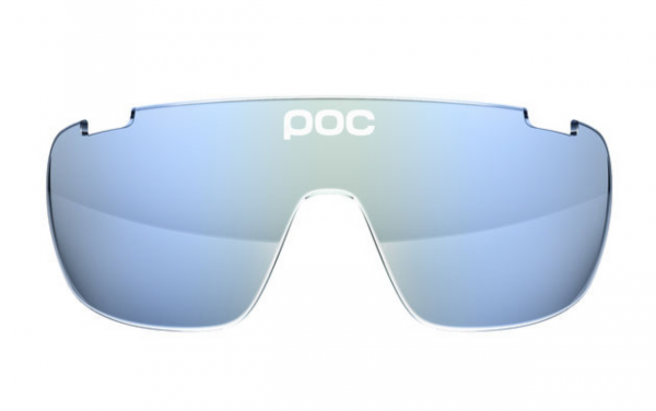 POC DO Blade Spare Lense - Ersatzglas Light Blue Electric Mirror 24.80