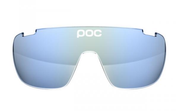 POC DO Blade Spare Lense - Ersatzglas Light Blue Electric Mirror 24.80