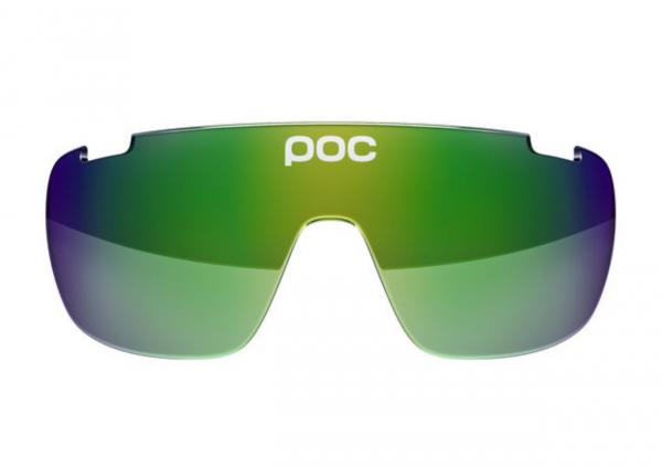 POC DO Half Blade Spare Lense - Ersatzglas Green Green Mirror 15.20