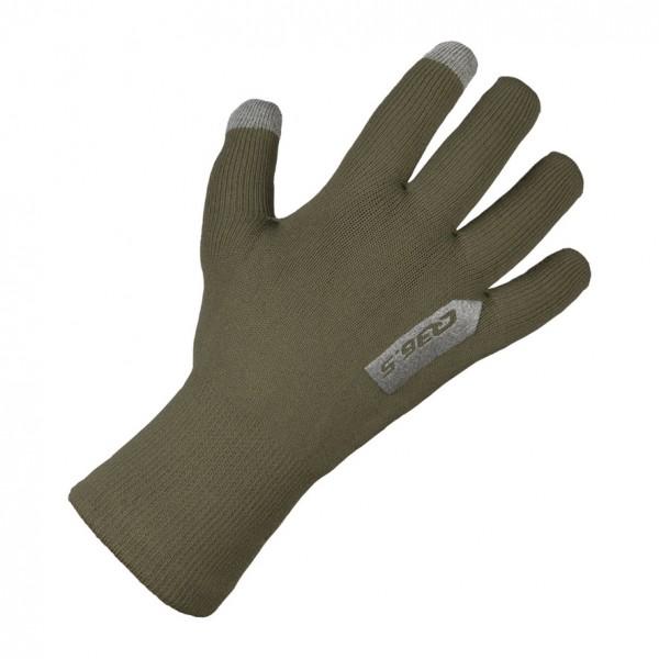 Q36.5 Anfibio Gloves Regenhandschuhe - olive green