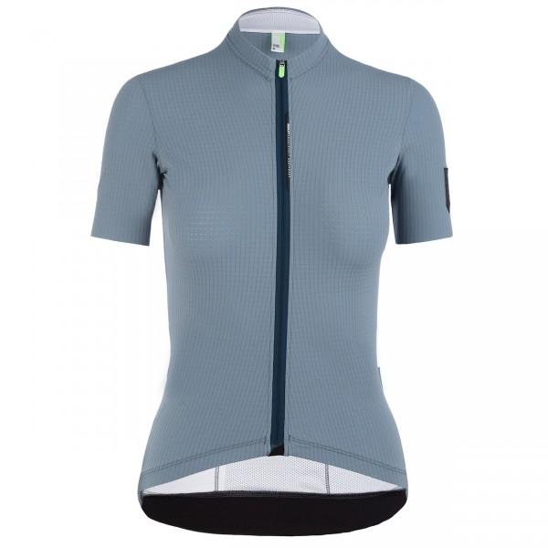 Q36.5 Jersey Short Sleeve L1 Woman Pinstripe X avio