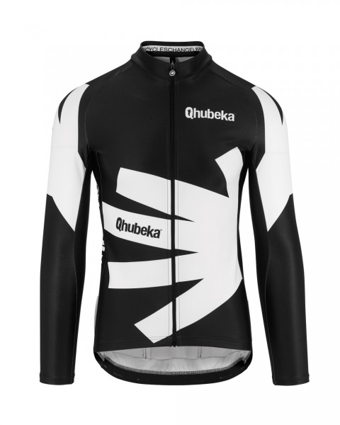 Assos QHUBEKA Moving Forward Charity LS Jersey black