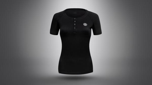 Lightweight Edelstoff Glanzdame T-Shirt