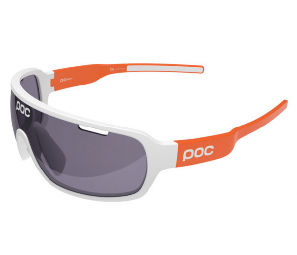 POC DO Blade AVIP Hydrogen White / Zink orange VIOLET 28.4