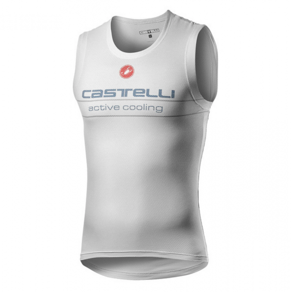 Castelli ACTIVE COOLING SLEEVELESS - SILVER GRAY