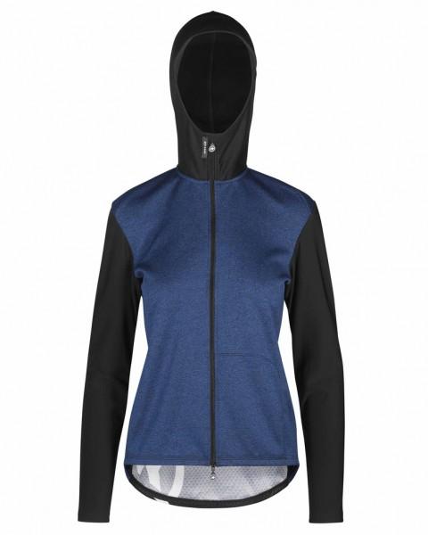 Assos TRAIL Women's Spring/Fall Hooded Jacket - twilightBlue
