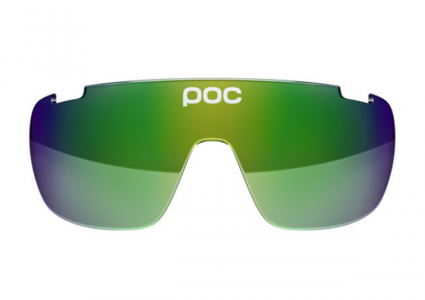 POC DO Blade Spare Lense - Ersatzglas Green Green Mirror 15.20