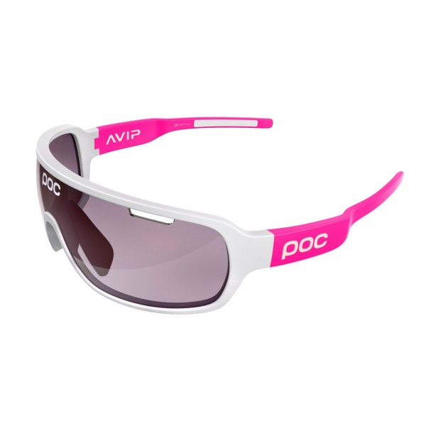 POC DO Blade AVIP Flourescent Pink / VIOLET LIGHT SILVER 16.5