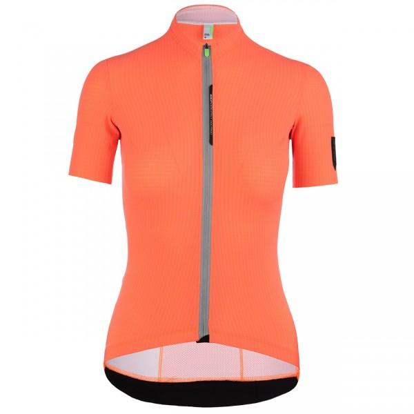 Q36.5 Jersey Short Sleeve L1 Woman Pinstripe X - coral