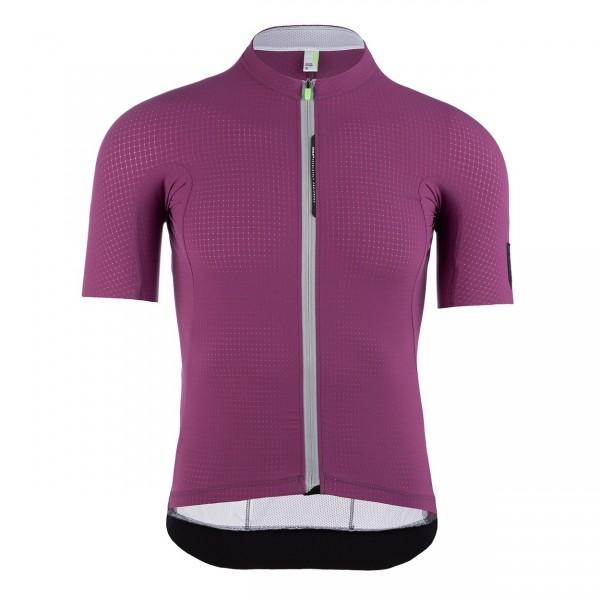 Q36.5 Jersey ShortSleeve L1 purple pinstripe X