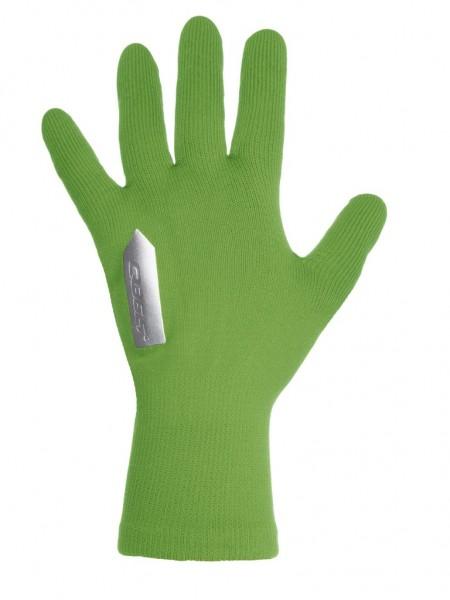 Q36.5 Anfibio Gloves Regenhandschuhe - green fluo