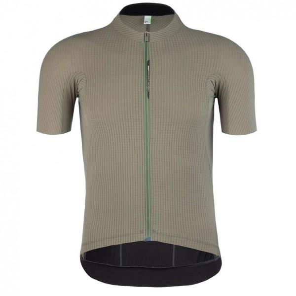 Q36.5 Jersey ShortSleeve L1 pinstripe X - olive green