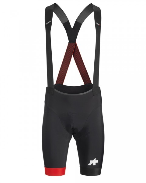 Assos Equipe RS Bib Shorts S9 - national red