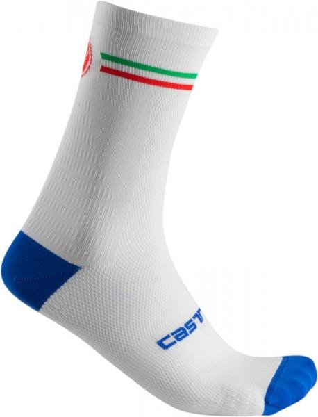 Castelli ITALIA 15 SOCK - WHITE