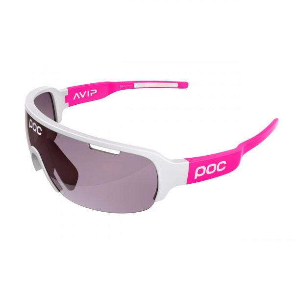 POC DO Half Blade AVIP Fluorescent Pink / VIOLET LIGHT SILVER 16.5