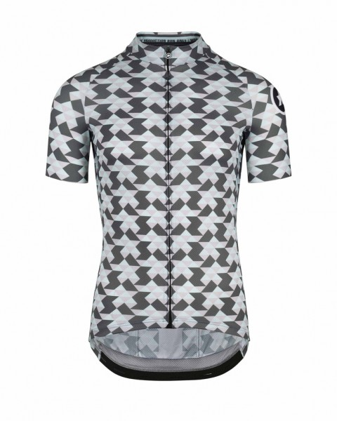 Assos FASTLANE Diamond Crazy SS Jersey - Ice Gray