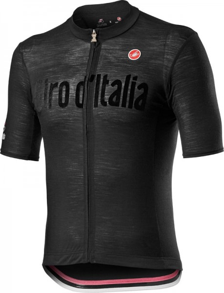 Castelli Giro d'Italia 2021 HERITAGE MAGLINA NERA JERSEY