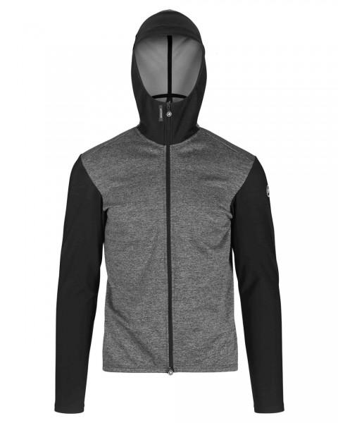 Assos TRAIL Spring/Fall Hooded Jacket - blackSeries