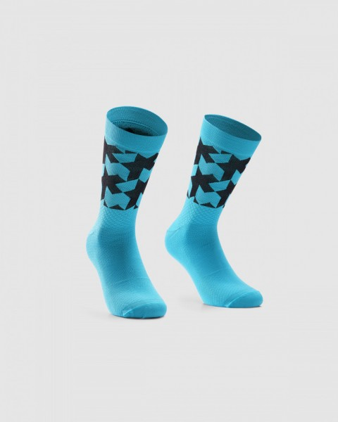 Assos ASSOSOIRES MONOGRAM SOCKS EVO - hydro blue