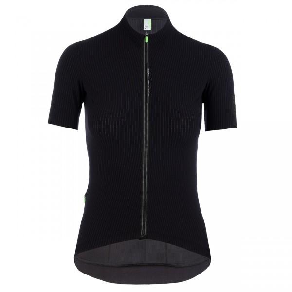 Q36.5 Jersey Short Sleeve L1 Woman Pinstripe X - black