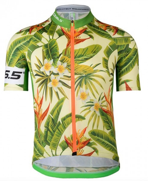Q36.5 Jersey Short Sleeve R1 Flower Power