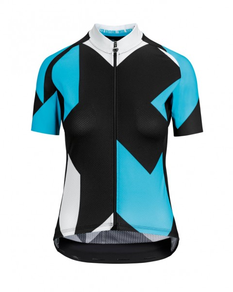 Assos FASTLANE Woman's Rock SS Jersey - damBlue