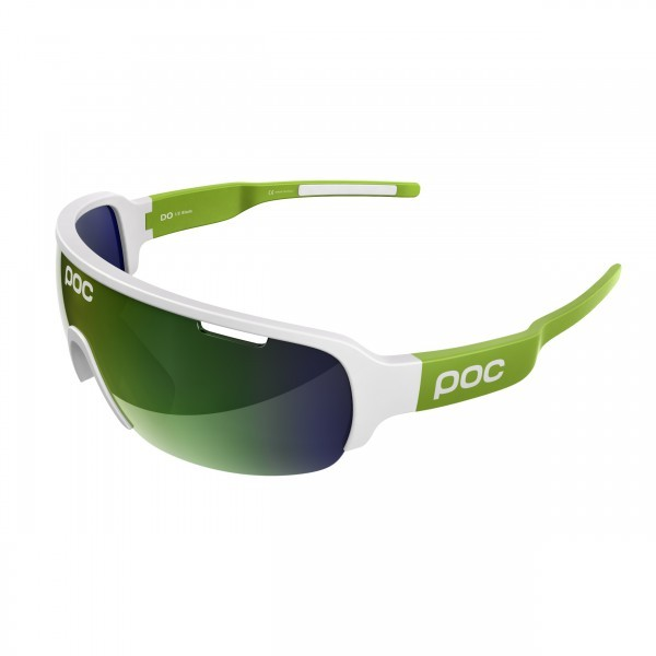 POC DO Half Blade Cannondale Edition Cannon Green / Hydrogen White - Green Mirror