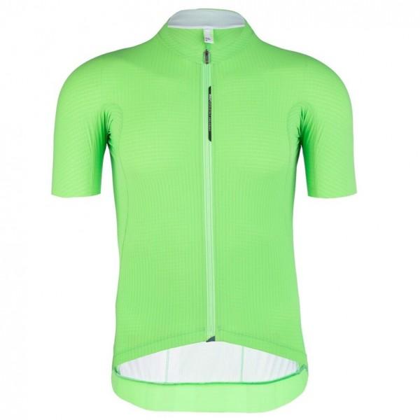 Q36.5 Jersey ShortSleeve L1 pinstripe X - green fluo