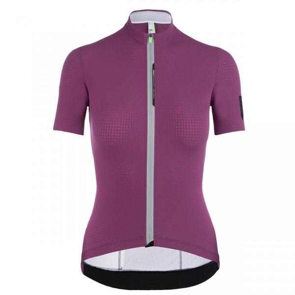 Q36.5 Jersey Short Sleeve L1 Woman Pinstripe X - purple